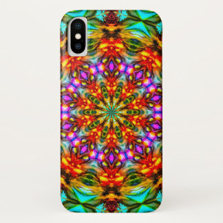 Native American Sunflower Watercolor Mandala Case