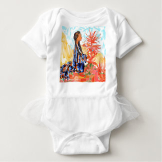 """Native American """"The giving Tree"""" Baby Bodysuit"""