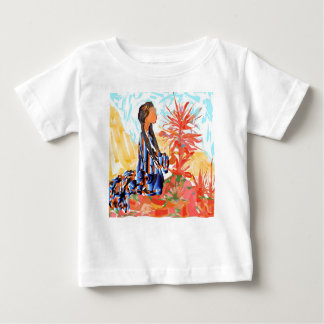 """Native American """"The giving Tree"""" Baby T-Shirt"""