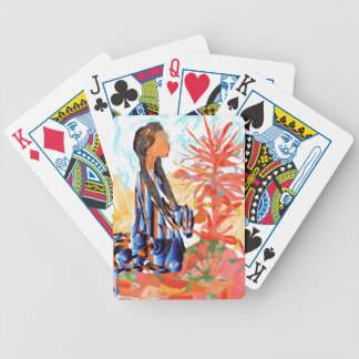 "Native American ""The giving Tree"" Bicycle Playing Cards"
