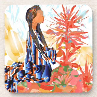 """Native American """"The giving Tree"""" Coaster"""