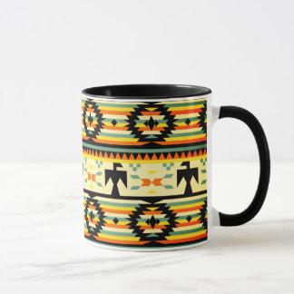 Native American Thunderbird Pattern Mug