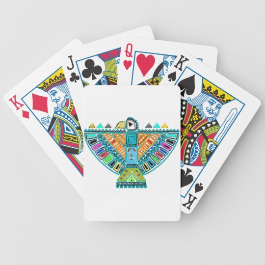 Native American Totem Bicycle Playing Cards