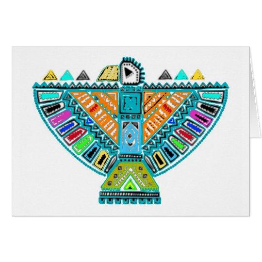Native American Totem Card