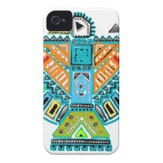 Native American Totem iPhone 4 Covers