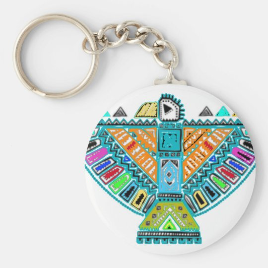 Native American Totem Keychain