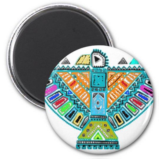 Native American Totem Magnet