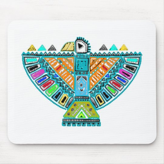 Native American Totem Mouse Pad