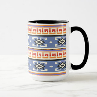 Native American Tribal Geometric Pattern Mug