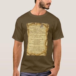 Native American Wisdom of Chief Tecumseh T-Shirt