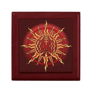 Native Art Gift Box Custom Spiritual Jewelry Box