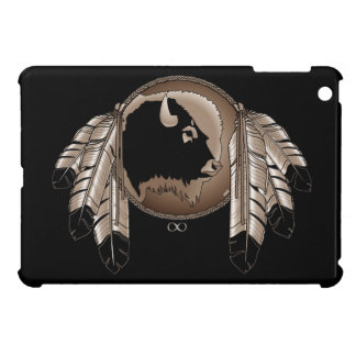 Native Art iPad Mini Case Spirit Buffalo Metis Cas