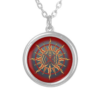 Native Art Necklace Spiritual Elements Tribal Gift