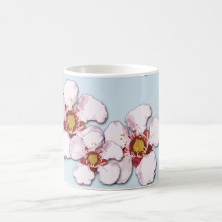 Native Australian Tea Tree Flower Pattern Coffee Mug