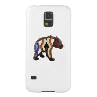 Native Bear Galaxy S5 Cases