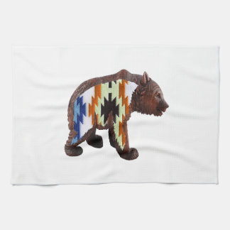 Native Bear Kitchen Towel