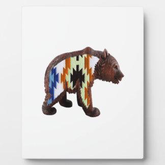 Native Bear Plaque