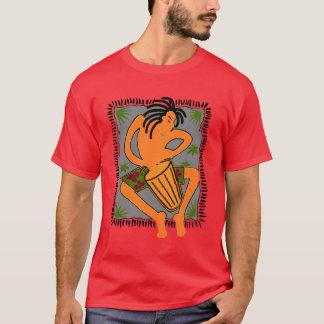 Native Bongo (Dark Red) T-Shirt