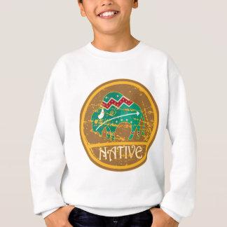Native Buffalo Painting Sweatshirt