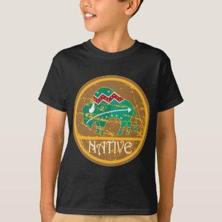 Native Buffalo Painting T-Shirt