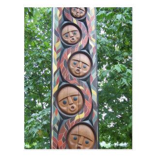 Native Carving Postcard