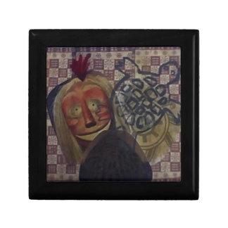 Native Crazy Quilt Gift Box