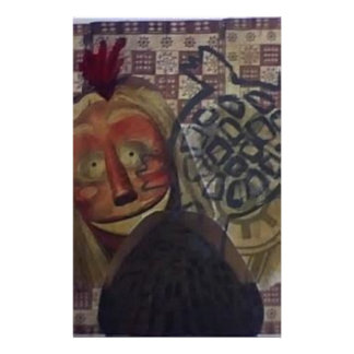 Native Crazy Quilt Stationery