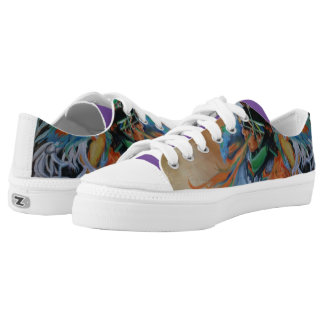 Native Dance Steps Low-Top Sneakers