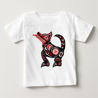 Native Design Wolf Graphic print Baby T-Shirt
