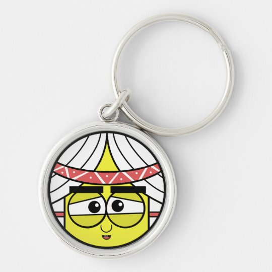 Native Face Keychain