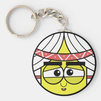 Native Face Keychain