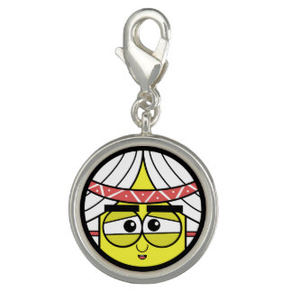 Native Face Photo Charms