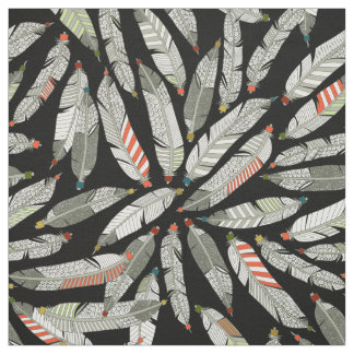 native feathers fabric