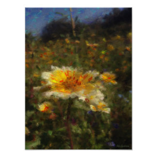 Native-flower Meadow 12x16 Archival Matte Poster