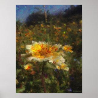 Native-flower Meadow 12x16 Semi-Gloss Poster Print