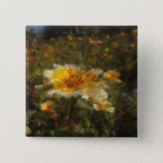 Native Flower Meadow Button