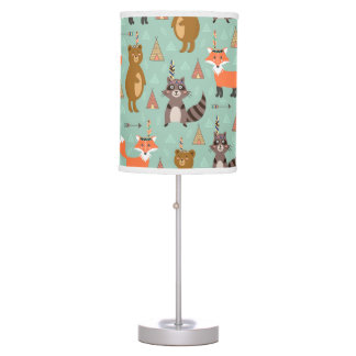 Native Forest Friends Lamp