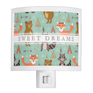 Native Forest Friends Night Light