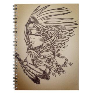 Native Girl Note Books
