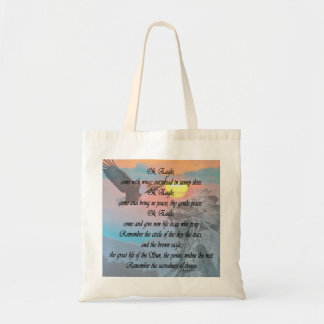 Native Indian, American Indian Eagle Prayer Tote