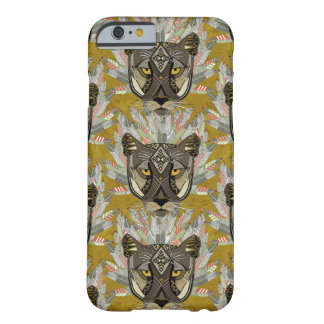 native mountain lion gold barely there iPhone 6 case