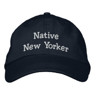 Native New Yorker Embroidered Hat
