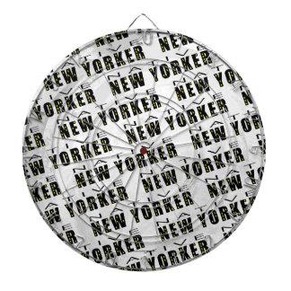 Native New Yorker Pattern Dartboard