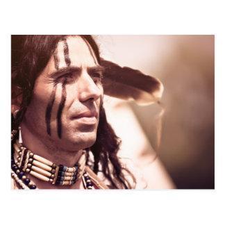 Native pride postcard