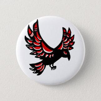 Native Raven 2 Inch Round Button
