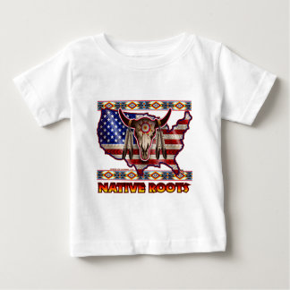 Native Roots American USA Design Baby T-Shirt