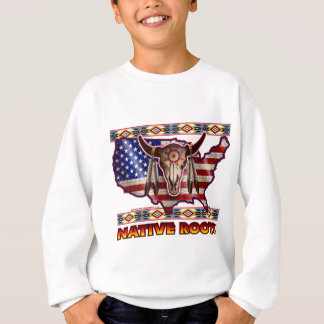 Native Roots American USA Design Sweatshirt