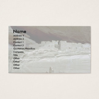 Native ruins, Arizona Business Card