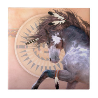 Native Spirit I Art Tile