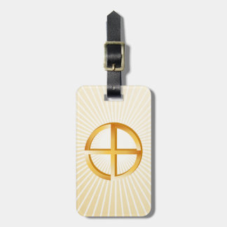 Native Spirituality Luggage Tag